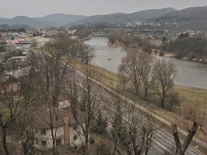 Photo: Widok z wzgórza zamkowego na San.