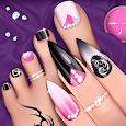 Fashion Nail Salon Game: Manicure and Pedicure App
