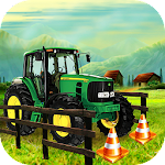 Farming Tractor Parking Games Icon