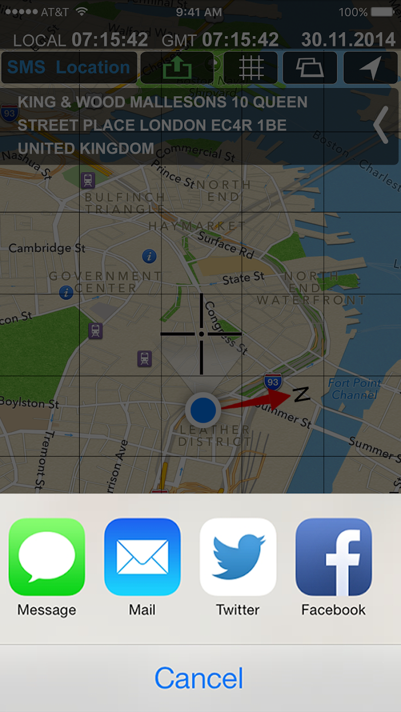 All GPS Tools Pro (Compass, Weather, Map Location) Screenshot 3