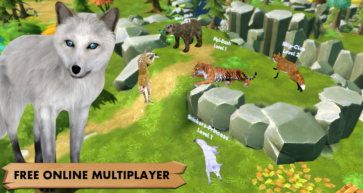 wolf simulation games free online