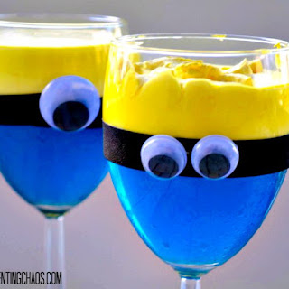 Minion Jello Cups