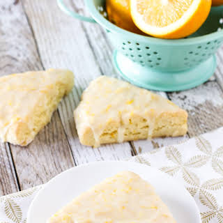 Gluten Free Vegan Sweet Orange Scones.