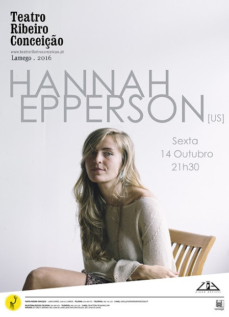 ZigurArtists apresenta Hannah Epperson em Lamego