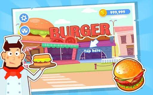 Burger Shop Kids Cooking Story