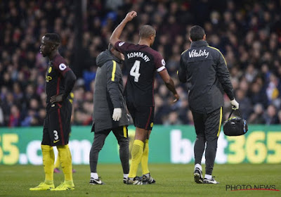 Guardiola veut être prudent avec la blessure de Kompany