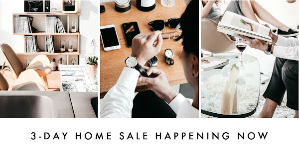 Three Day Home Sale - Facebook Event Cover Template