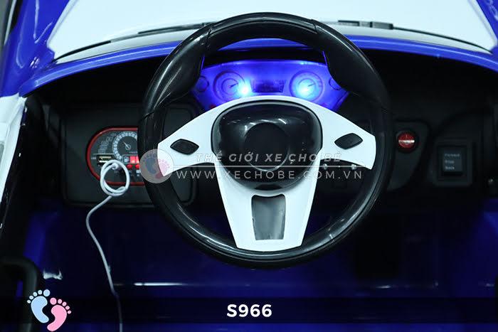 Xe ô tô điện cảnh sát XYS-966 17
