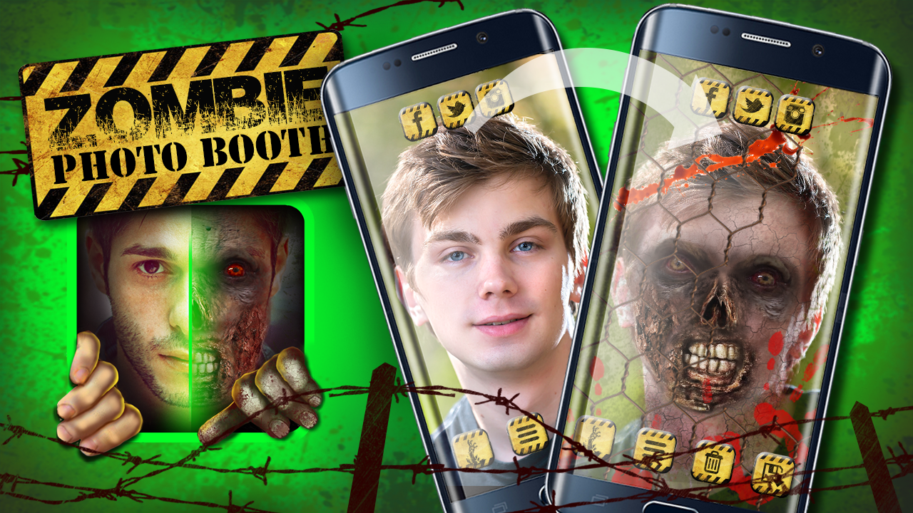 Zombie Photo Booth- screenshot