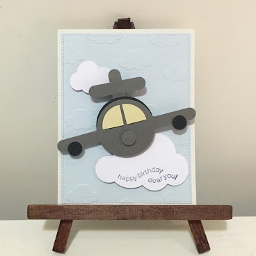 """Flying In The Sky"" (Birthday Card)"