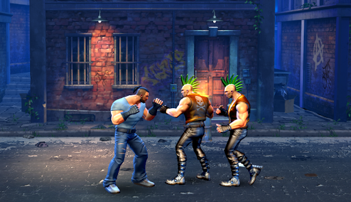 Final Street Fighting game Kung Fu Street Revenge apkpoly screenshots 3