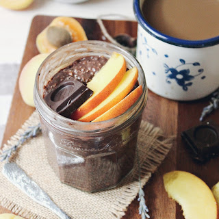 Brownie Batter Overnight Oatmeal.
