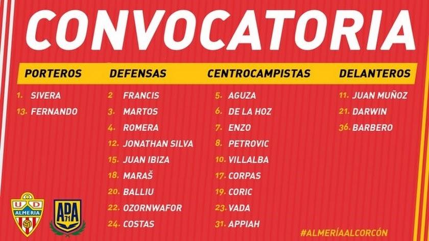 La lista de elegidos por Guti para enfrentarse al Alcorcón.