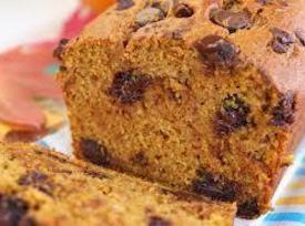 Oh So Sweet Chocolate Chip Pumpkin Bread Recipe