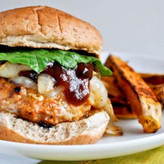 Spicy Ground Chicken Burger Recipes.