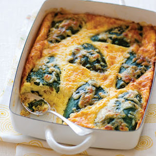 Baked Chiles Rellenos.