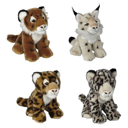 Cuddly Promotional Big Cats