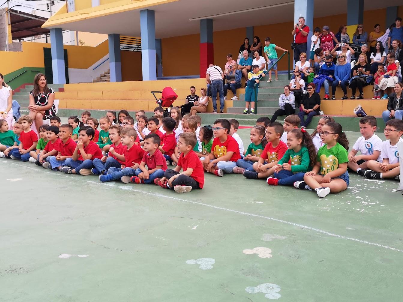 Orla del alumnado de Infantil en el CEIP Alcalde Diego Trujillo
