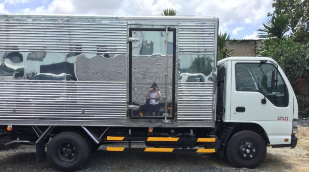 thùng xe xe tải Isuzu 1t4