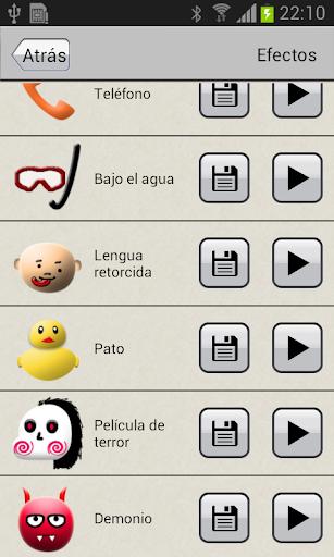 Modificador de voz screenshot 5