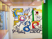 Google's Europe Office in Milan, Italy.