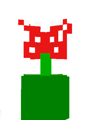 A small version of the Pihrana plant from Mario, (y'know, those things that always sprout from tubes and eat u)