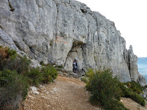 Photo: Grotte du Grosibou. Taoumé. Garlaban.