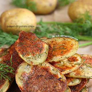 Baked Dill Potato Chips.