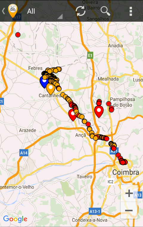AC GPS Tracker- screenshot