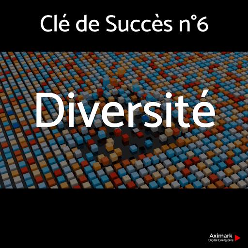 Clé de Succès n°6 -Diversité