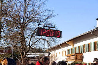 Photo: Start 12:00 bei Kaiserwetter