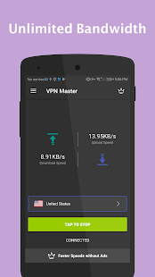VPN Master - Unlimited VPN Proxy Screenshot