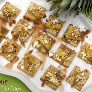 Balsamic Pineapple Feta Bites.