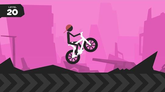 Wheelie Stickman Rider 3
