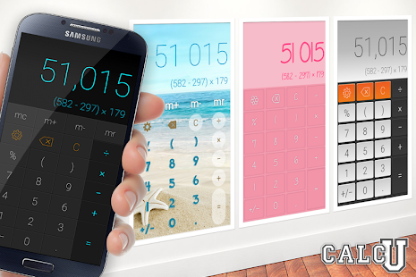 CALCU™ Stylish Calculator Free- screenshot thumbnail
