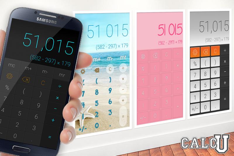 CALCU™ Stylish Calculator Free Screenshot