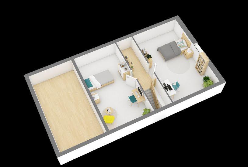 Vente Terrain + Maison - Terrain : 670m² - Maison : 78m² à Ablis (78660)