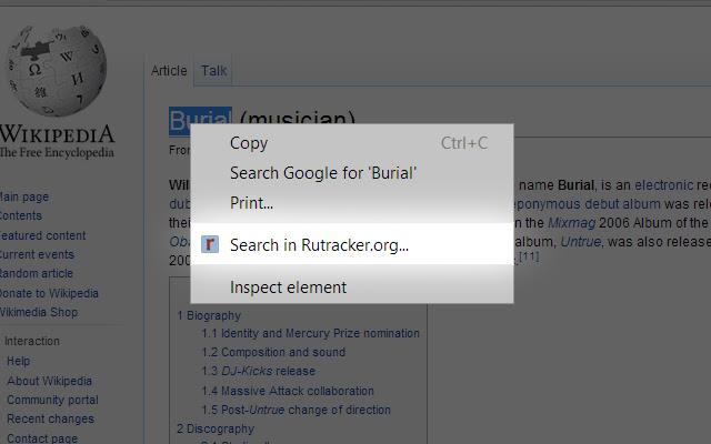 Rutracker Search