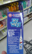 Photo: I double checked on the My Way! Spinbrush just in case and the batteries are included there as well.