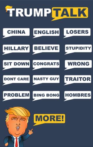 Trump Talk (Free) 1.0 screenshots 1