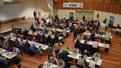 Photo: Panorama Spielsaal 1. Runde