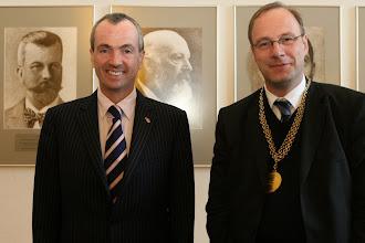 Photo: US-Botschafter Murphy und HU-Präsident Markschies