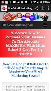MaxViralMarketing- screenshot thumbnail