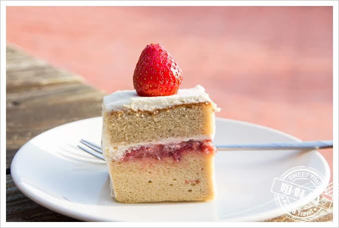 73階蔬食咖啡草莓蛋糕