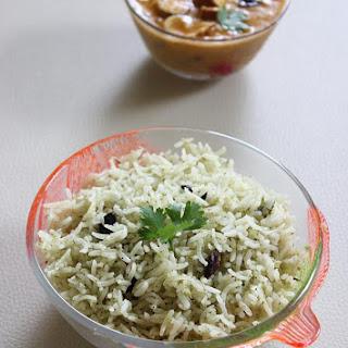 Pudina Rice Recipe | Mint Rice | Pudina Pulao