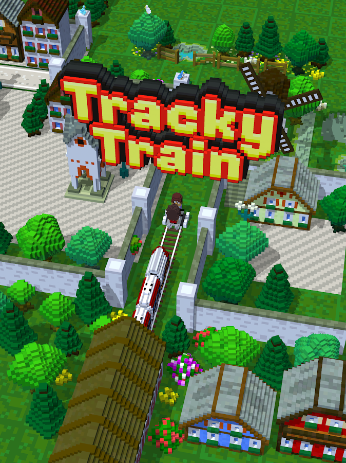 Tracky Train- screenshot