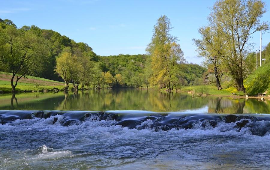 Beauty of Korana river by Gordana Trošić-Kliska - Landscapes Waterscapes ( water, nature, waterscape, croatia, lamdscape, river,  )