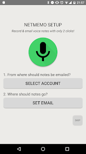 Netmemo Voice Recorder for GTD- screenshot thumbnail