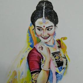 by Samriddhi Dutta - Drawing All Drawing