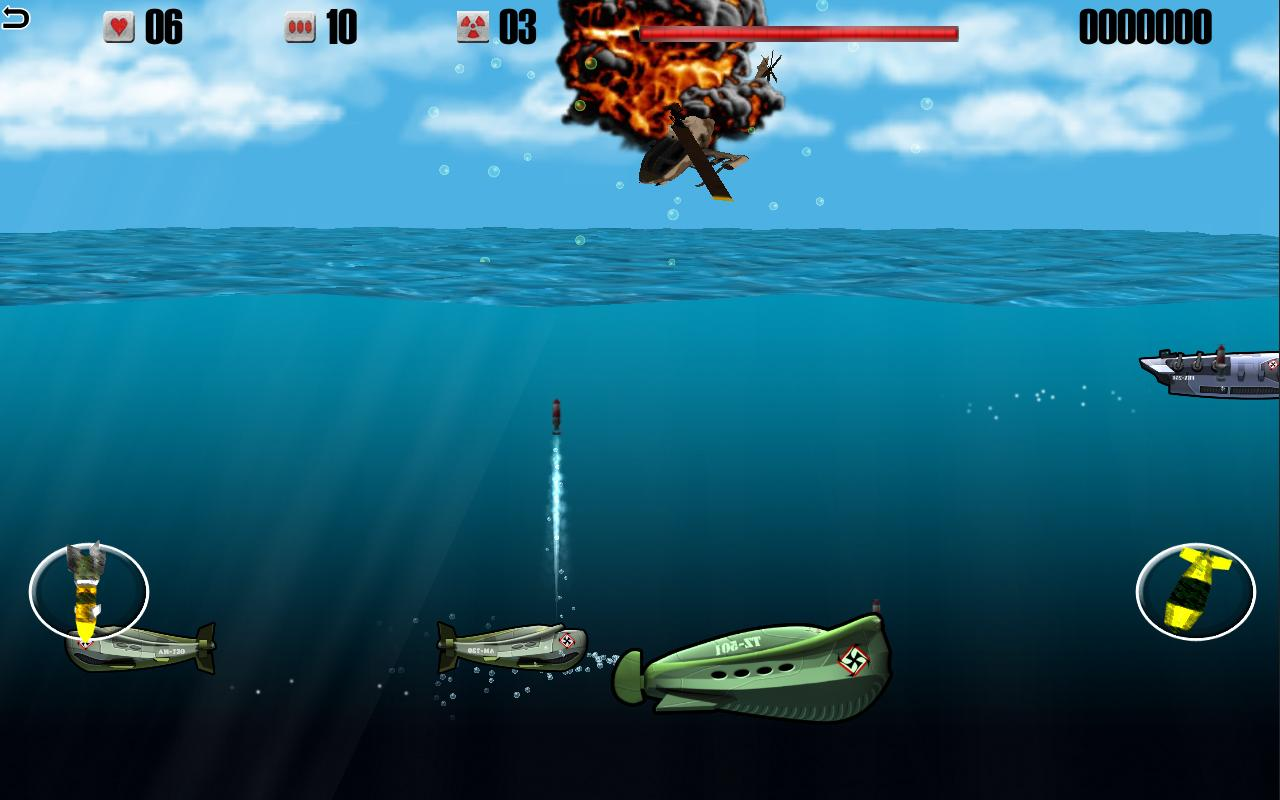 Helicopters vs Submarines - War Machines Battle- screenshot
